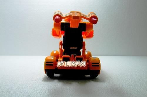 Mặt sau của con robot